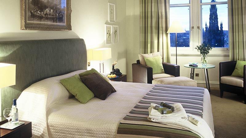 The Balmoral Hotel i Edinburgh