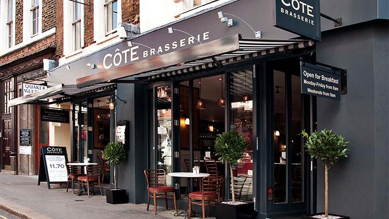 Côte St Martin's Lane i London