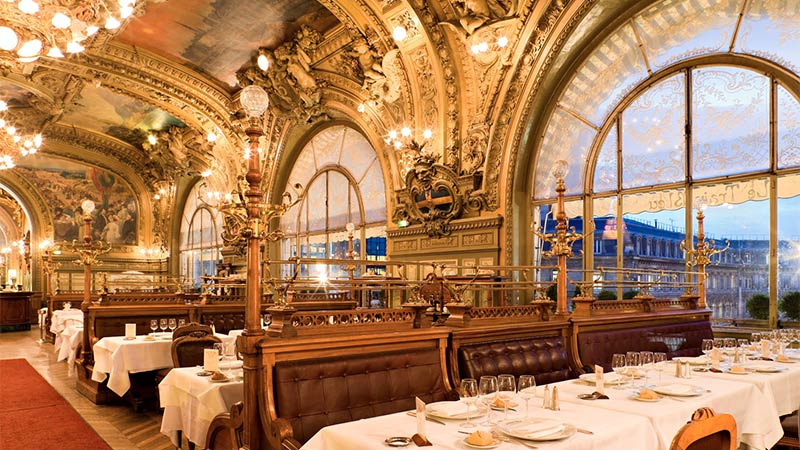 Le train bleu i Paris