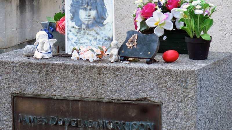Jim Morrisons grav i Paris