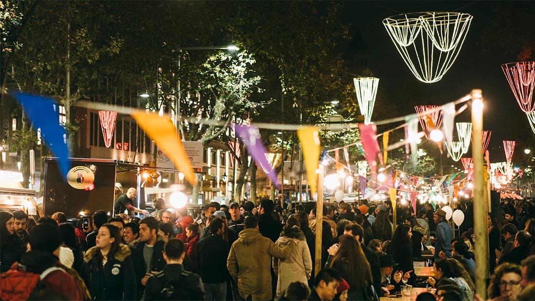 Julemarked i Barcelona
