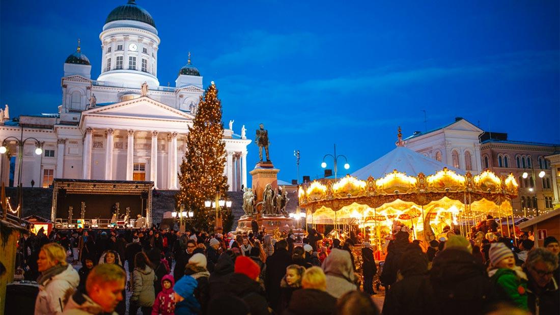 Julemarked i Helsinki