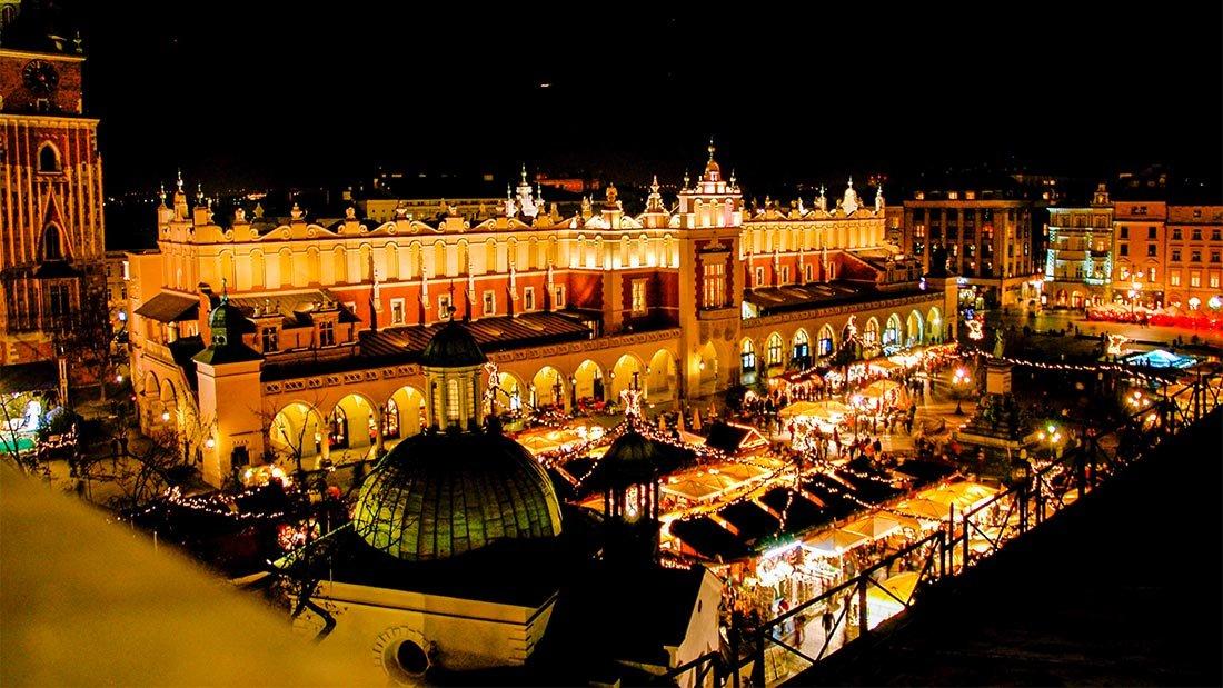 Julemarked i Krakow