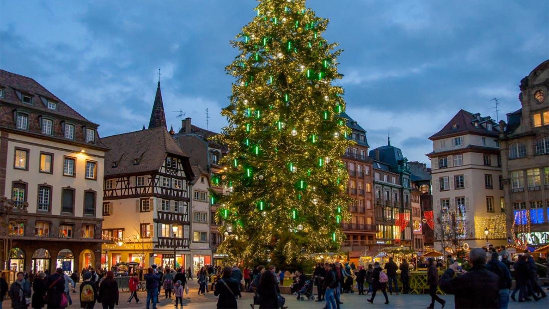 Julemarked i Strasbourg