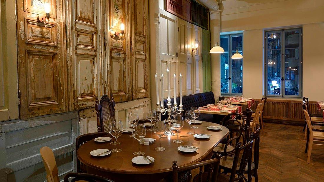 Restaurant Aubergine i Bucuresti