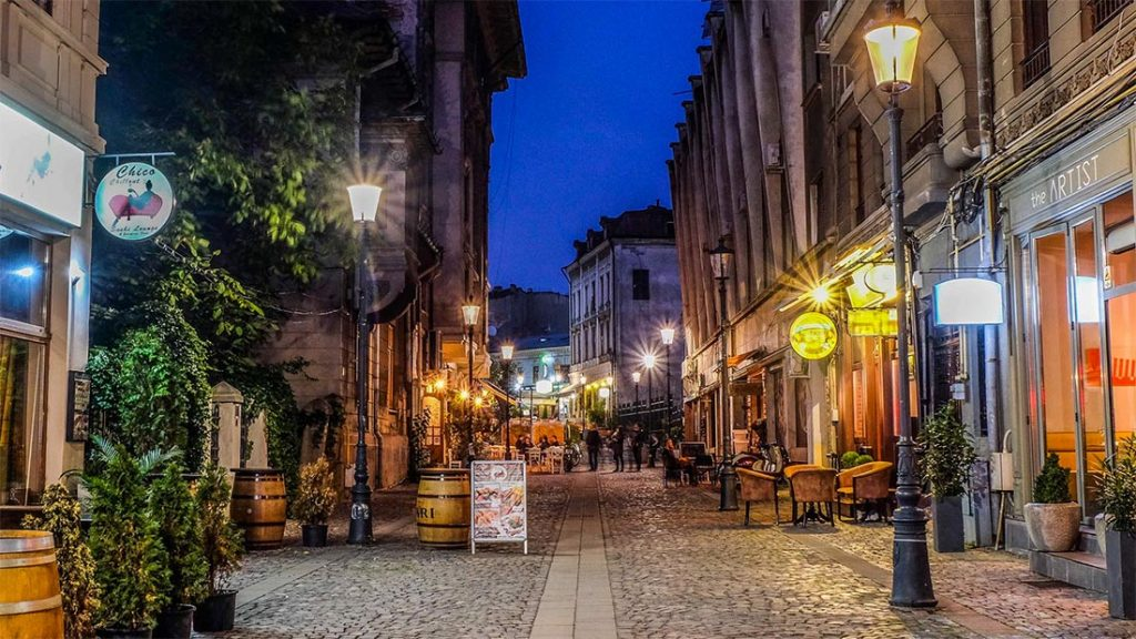 Gamlebyen i Bucuresti