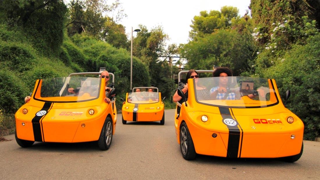 GoCar - Snakkende bil i Barcelona