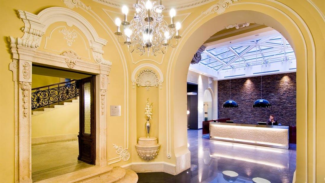 Hotel Palazzo Zichy i Budapest