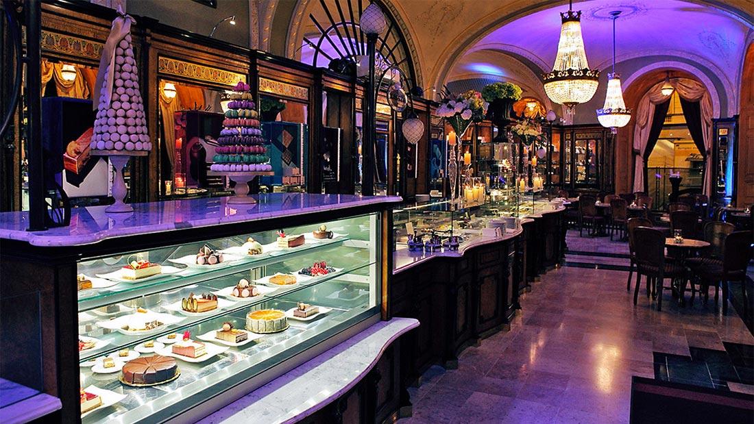 Konditoriet Gerbeaud i Budapest