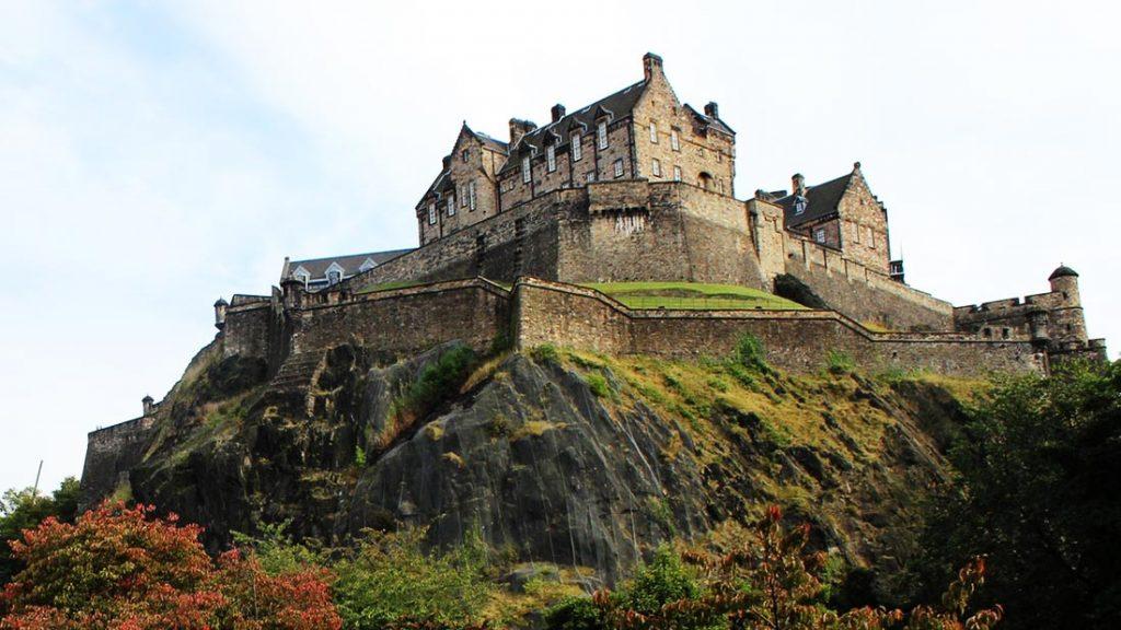Edinburgh slott