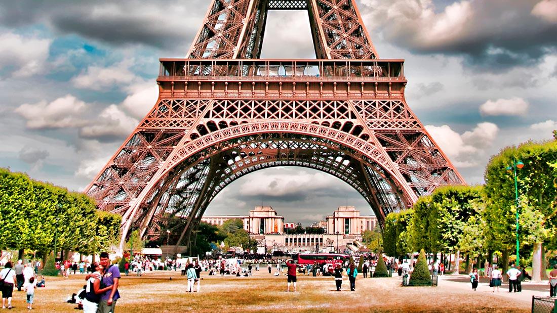 Eiffeltårnet i Paris
