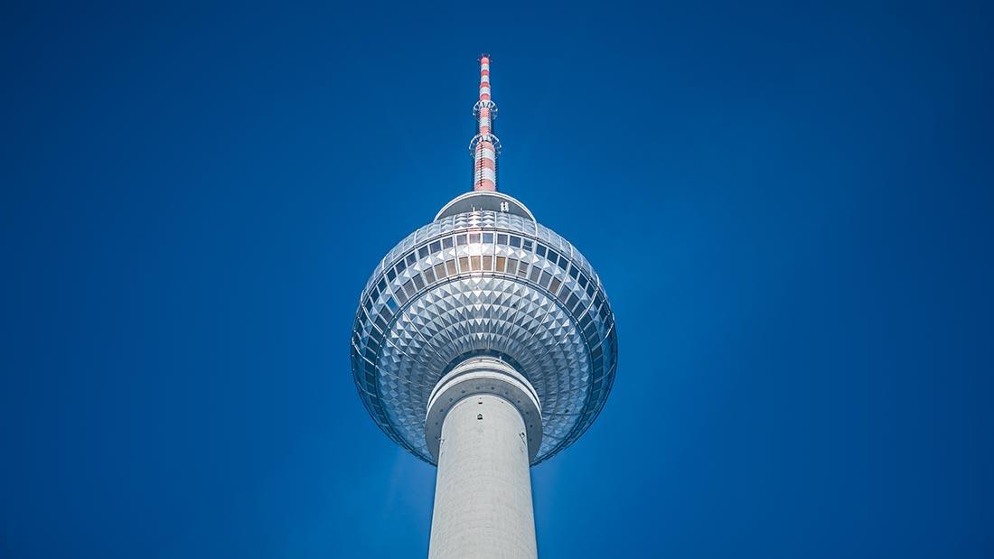 Berliner Fernsehturm i Berlin