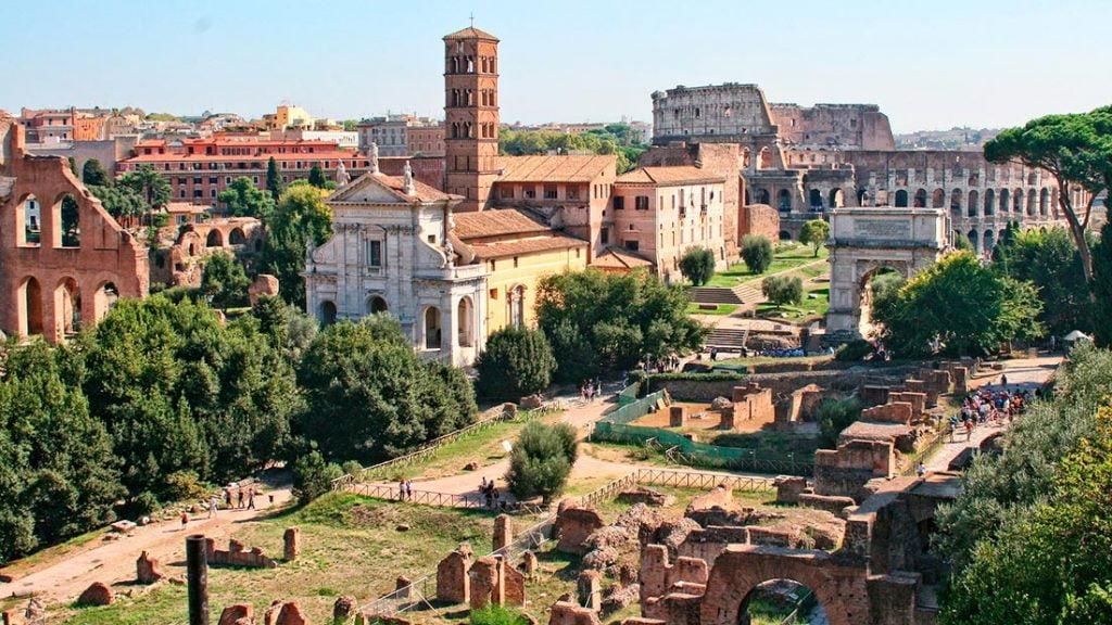 Forum Romanum i Roma