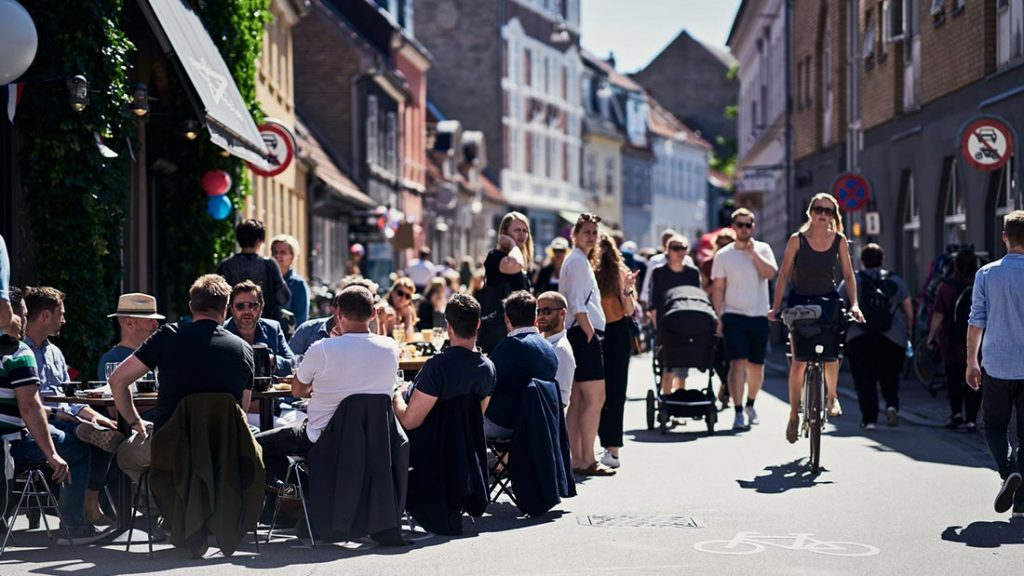 Caféliv i Latinerkvarteret i Århus