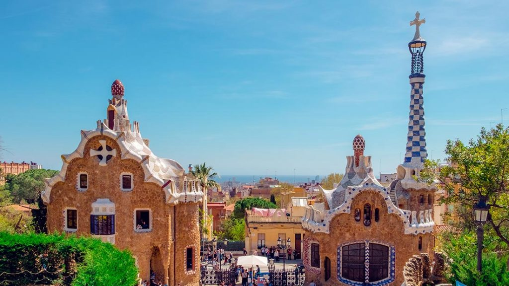 Parc Guëll i Barcelona