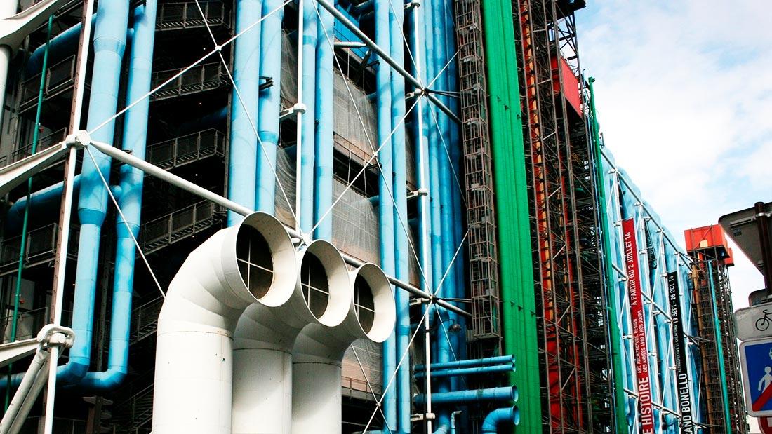 Pompidou-senteret i Paris