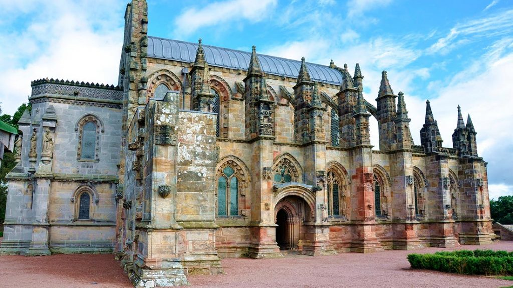 Rosslyn Chapel i Edinburgh