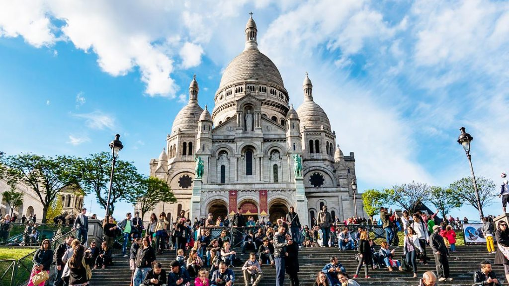 Sacre Coeur i Paris