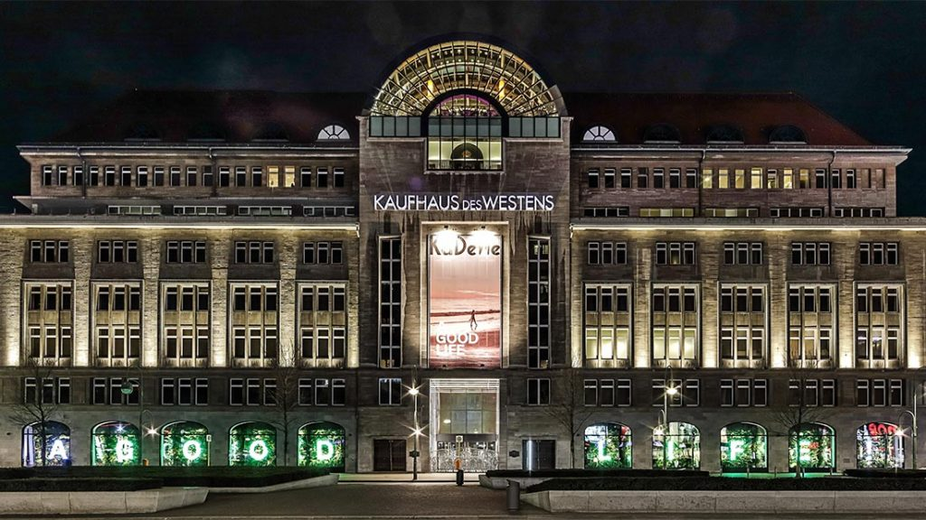 KaDeWe shoppingsenter i Berlin