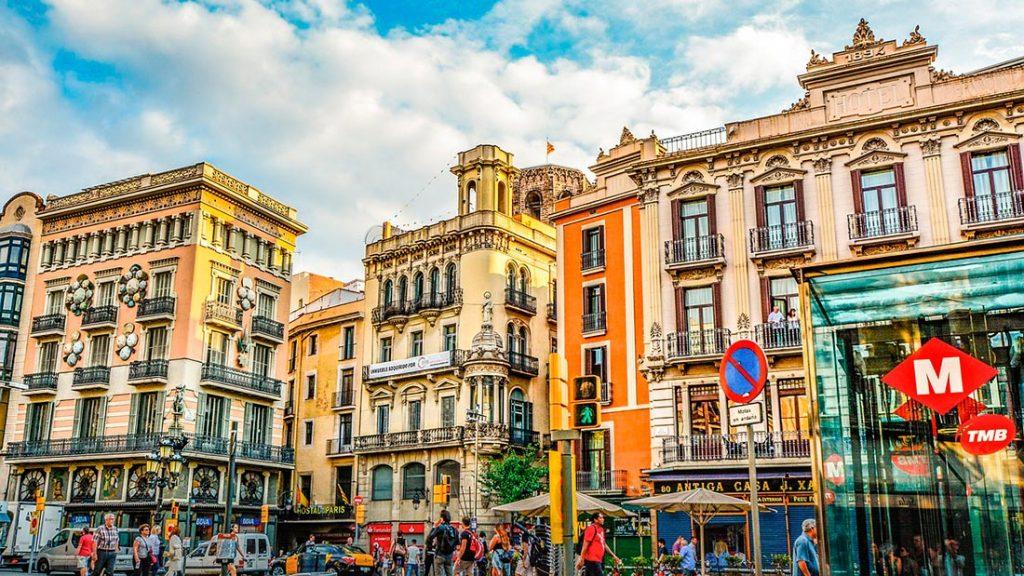 Shoppingområder i Barcelona