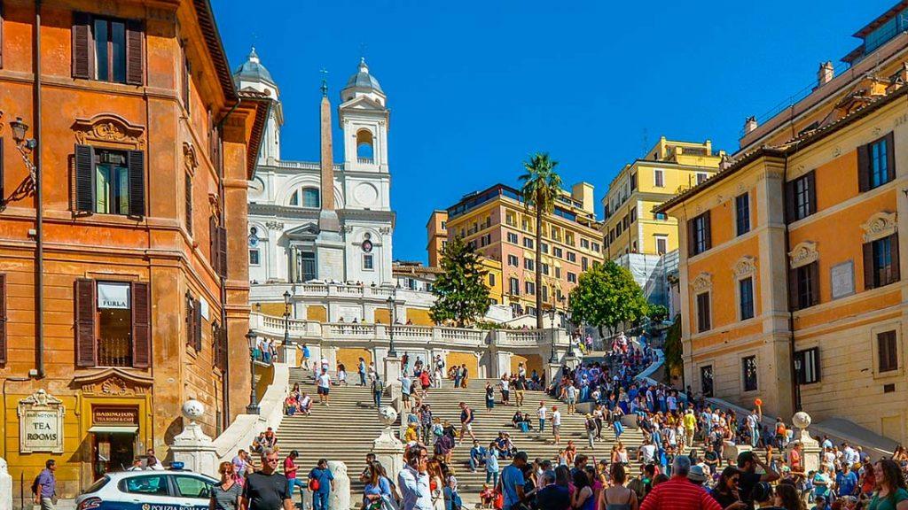 Spansketrappen i Roma