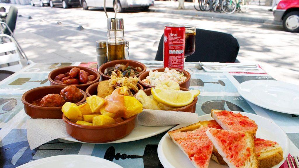 Tapas i Barcelona