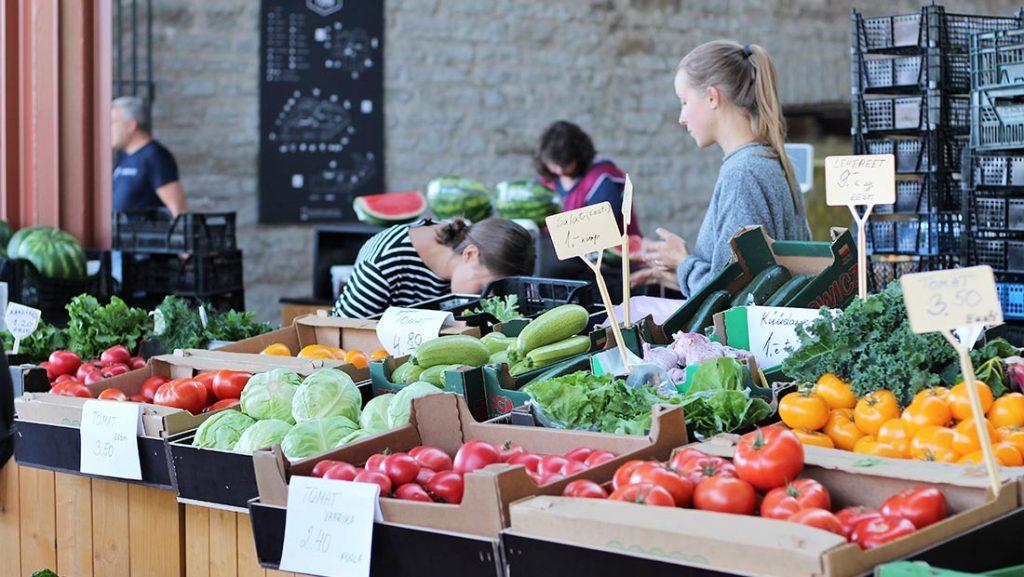 Balti Jaam-markedet i Tallinn
