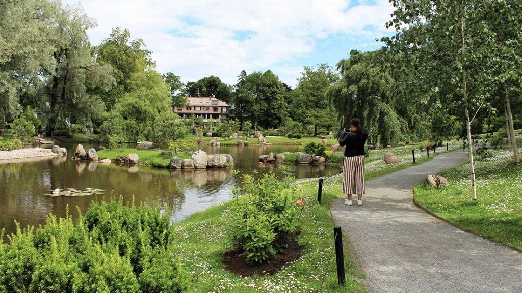 Japansk hage i Kadriorg i Tallinn