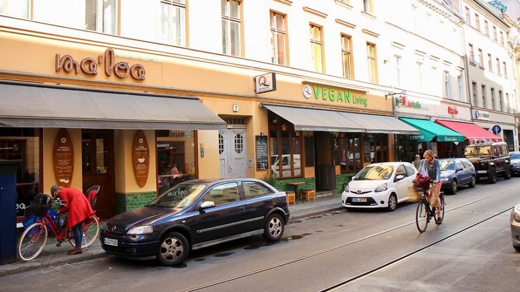Oranienburger strasse i Berlin