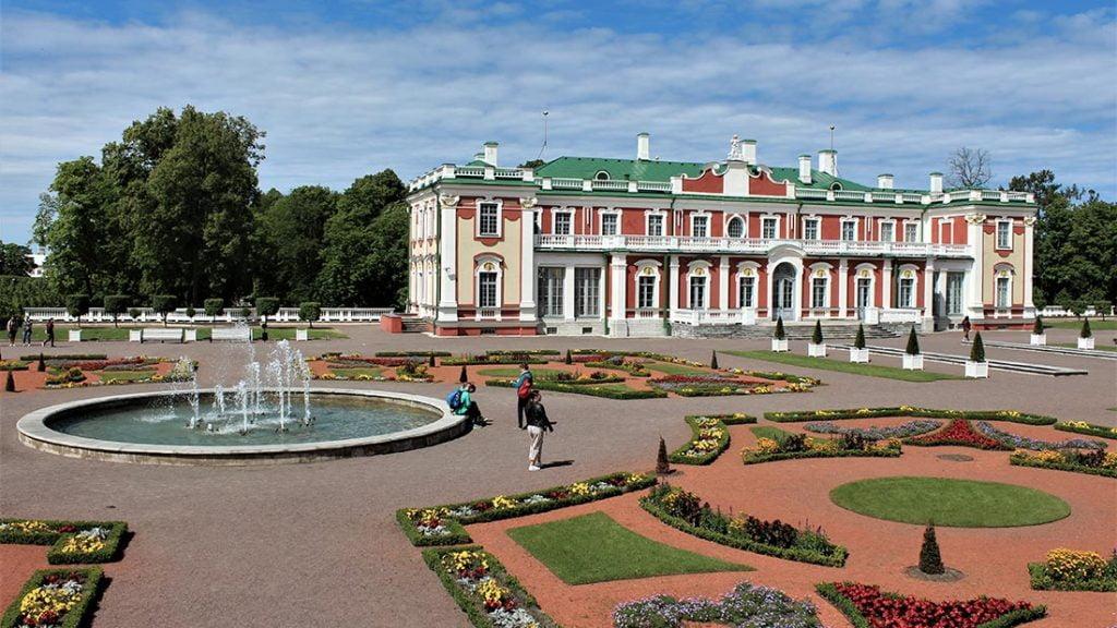 Sommerpalasset i Kadriorg i Tallinn