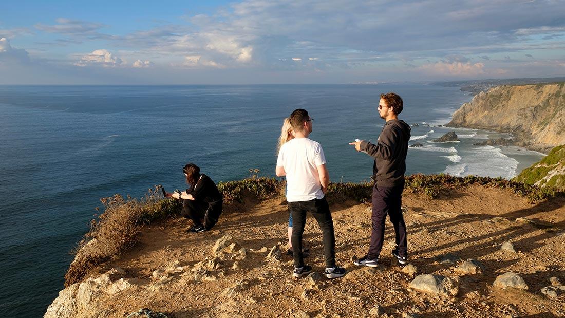 Utsikt nær Coba de Roca