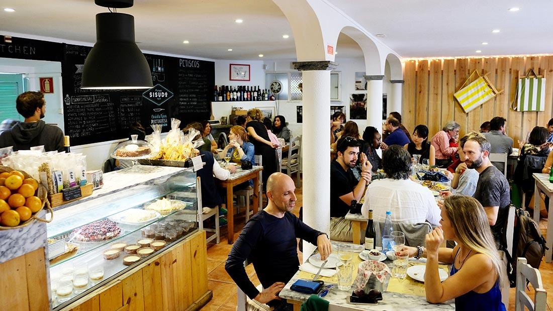 Sisudo restaurant i Sintra