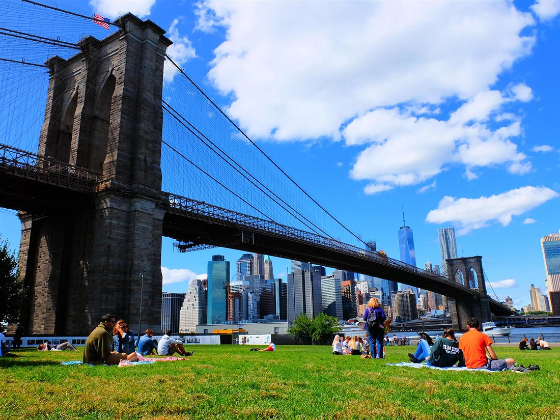 Brooklyn Bridge Park i New York