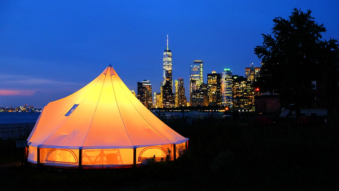 Glamping i New York