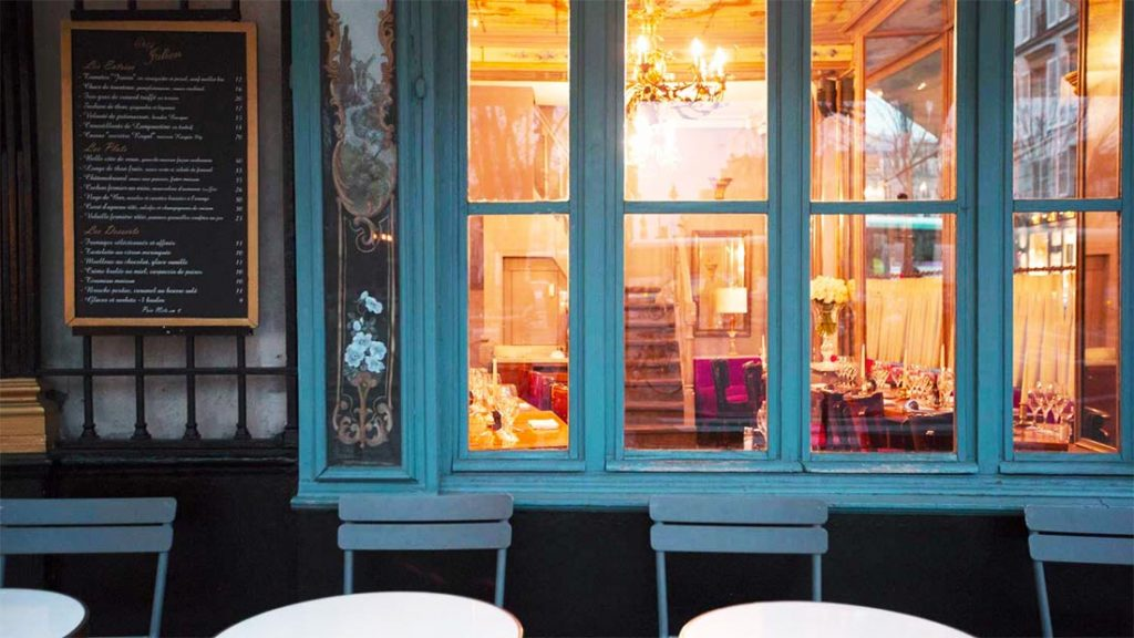 Chez Julien er et perfekt sted for en romantisk middag