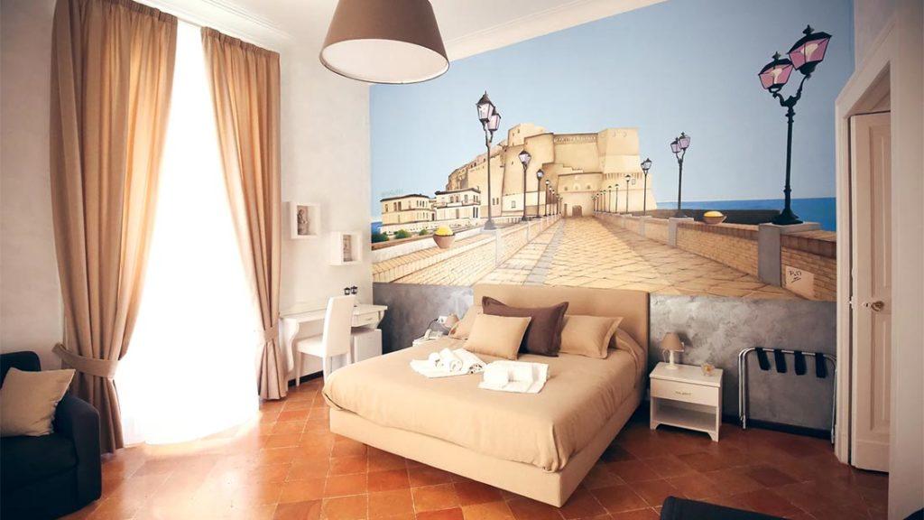 Fra Castel dell'Ovo-rommet